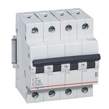 Выключатель автоматический RX3 4п 63Ах-ка C 4,5кА