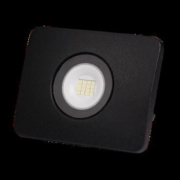 Фото Прожектор светодиодный LED PFL-D2 10w/6500K черный IP65 .5005419 JAZZWAY
