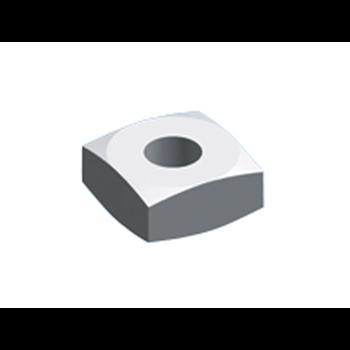Гайка квадратная 25x25x10 M12 (упак=10шт)
