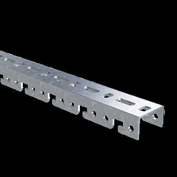 Фото DKC Профиль BPF, для консолей быстрой фиксации BBF, L3000, толщ.2,5 мм, цинк-ламельный BPF2930ZL ДКС