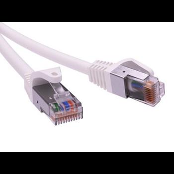 Фото Патч-корд экранированный CAT5E F/UTP 4х2, LSZH, белый, 2.0м RN5EFU4520WH ДКС