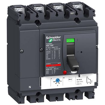 Выключатель SE Compact NSX100H TM63D 4P 4Т LV429692 Schneider Electric
