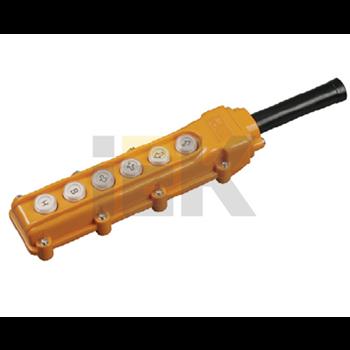 Пульт управления ПКТ-63 на 6 кнопок IP54 BPU10-6 IEK