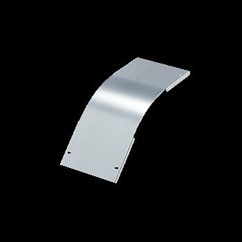 Фото DKC Крышка на угол вертикальный внешний 45 градусов 100х200, 0,8 мм, AISI 304