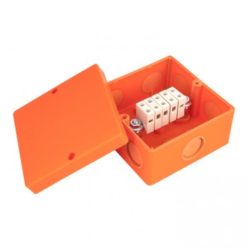 Фото Коробка распаячная PROxima 101х101х62 IP66 оранжевый EKF изображение №2