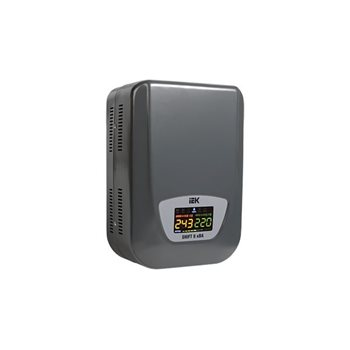 Стабилизатор напряжения настенный серии Shift 8 кВА IVS12-1-08000 IEK