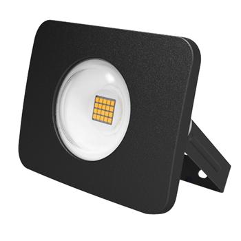 Прожектор светодиодный LED PFL-D2 20w/6500K черный IP65 .5002074 JAZZWAY