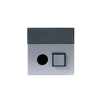 Центральная плата вызывной кнопки Signal Impressivo, алюминий PT-83 ABB