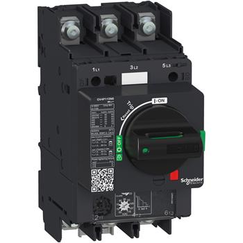 SE Автоматический выключатель GV4P с комбинированным расцепителем 115A 50kA зажим под кольцевой нако