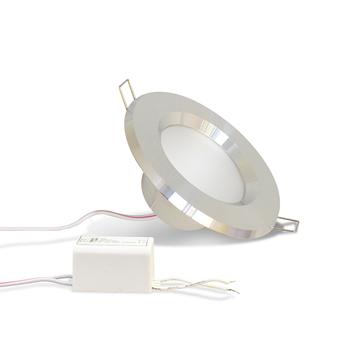 Фото Светильник LED TH-100 7Вт 4000K D100 серебро MAYSUN