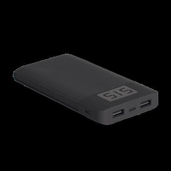 Аккумулятор внешний Power Bank PB-120-LCD 12000мАч, 2xUSB-порта, MicroUSB ФAZA