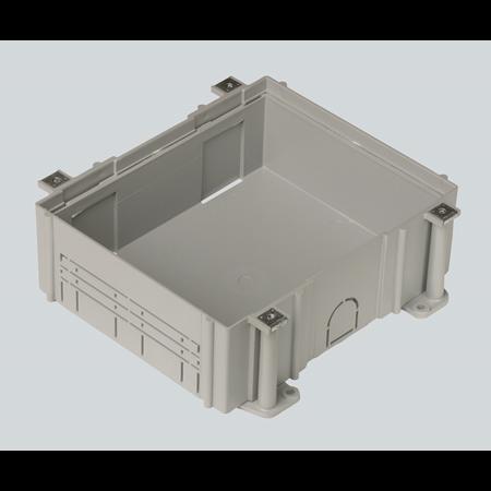 Фото Коробка для монтажа в бетон люков SF610-SF670, высота 80-110 мм, 259х312 мм