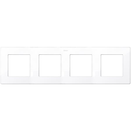 Фото Рамка четырехместная белый 24 Harmonie