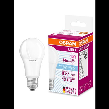 Фото Лампа светодиодная 14 Вт E27 4000K 1521Lm 200град. OSRAM 4058075057043