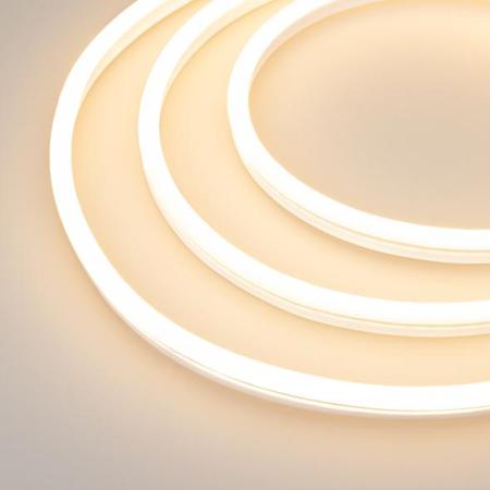 Фото Образец Гибкий неон GALAXY-1608-5000CFS-2835-100 12V Warm 0.5M (16x8mm, 12W, IP67) Arlight