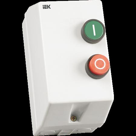 Фото Контактор КМИ-10960 9А в оболочке U=380В IP54 реле РТИ-1314( 7-10А), кноп.
