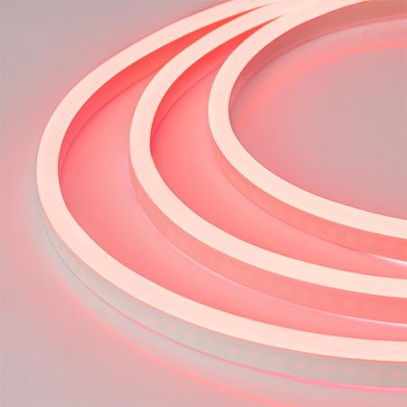 Фото Гибкий неон ARL-CF2835-Mini-24V Red (16x8mm) Arlight