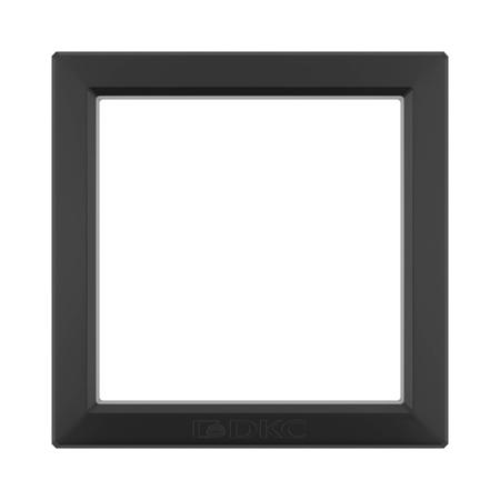 Фото Вставка для металлических рамок одноместная черный Avanti
