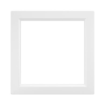 Фото Вставка для рамок одноместная белая Avanti