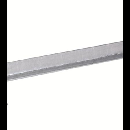 Фото Вертикальный заземлитель из уголка 50х50х5 мм, длина 3000 мм,горячеоцинкованный, с пластиной для подключения полосы DKC
