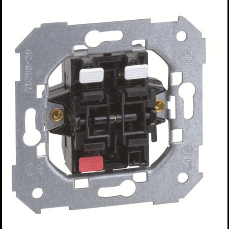 Фото Механизм выключателя двухклавишного 75