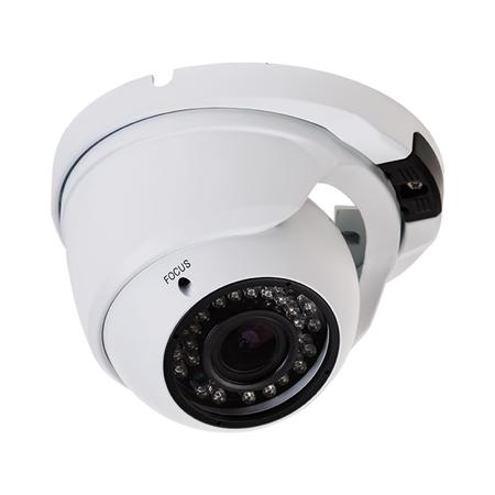 Фото Купольная уличная камера AHD 2.1Мп (1080P), объектив 2.8-12мм., ИК до 30 м.