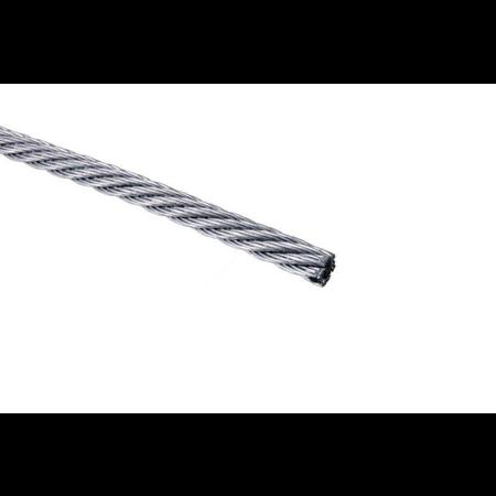Фото Трос стальной для растяжки DIN 3055 3,0 мм упак. 30м- накл.