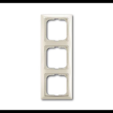 Фото Рамка 3-постовая, серия Basic 55, цвет chalet-white 1725-0-1513