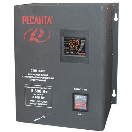 Фото Стабилизатор напряжения СПН-8300 настенный 8,3кВт 1-ф.