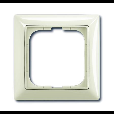 Фото Рамка 1-постовая, серия Basic 55, цвет chalet-white 1725-0-1511