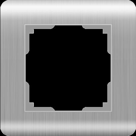 Фото Рамка одноместная серебряный Stream