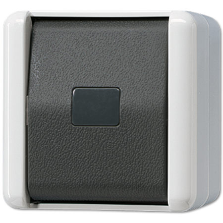 Фото Кнопка без фиксации 10AX 250V ~ с НО контактом, для накладного монтажа IP44