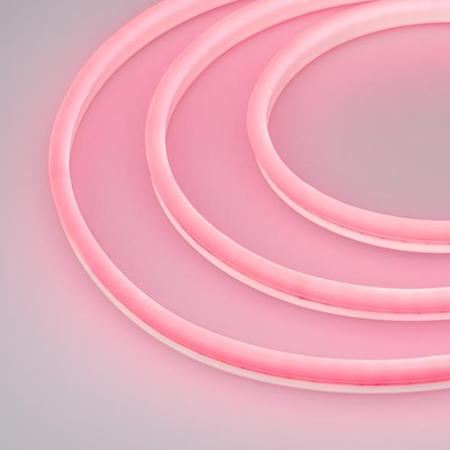 Фото Образец Гибкий неон GALAXY-1608-5000CFS-2835-100 12V Pink 0.5M (16x8mm, 12W, IP67) Arlight