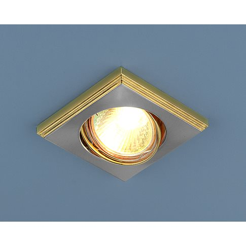 Светильник 105A MR16 сат.зол/ник (арт. 190083)