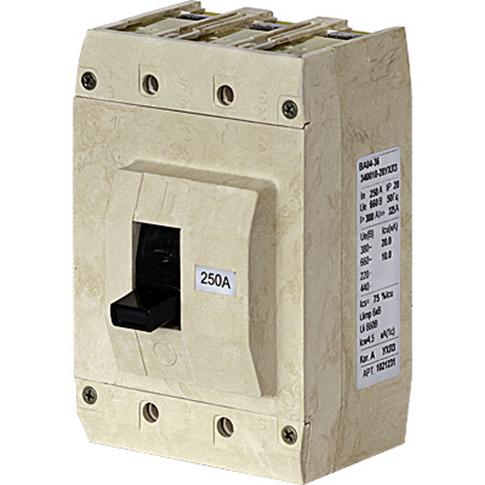 Выключатель автоматический в литом корпусе 1030055 Контактор