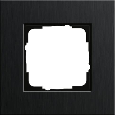 Gira ESP Черный анодированный алюминий Рамка 1-ая