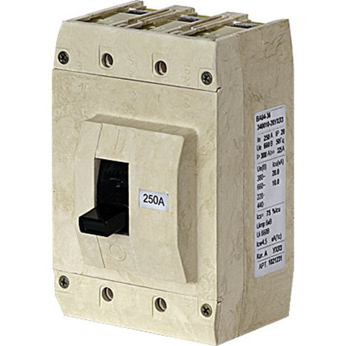 Выключатель автоматический в литом корпусе 1029946 Контактор