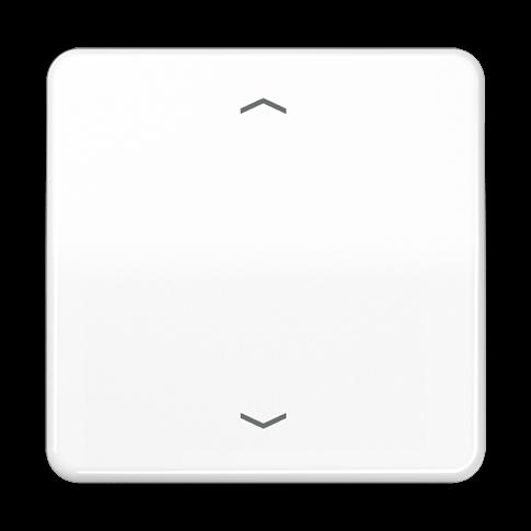 Клавиша блока управления жалюзи с возможностью подсоединения датчиков 32G; белая