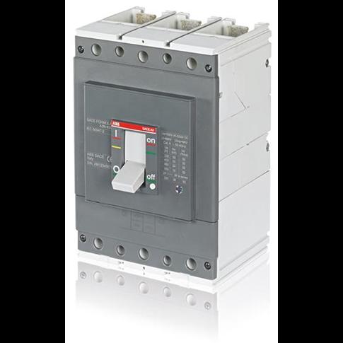 Выключатель автоматический A3S 630 ELT-LI (50kA 380/415В) In=630 3p F F