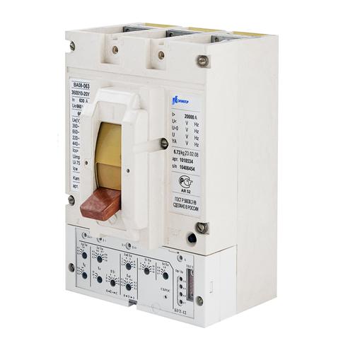 Выключатель автоматический ВА08-0635С-360010-20УХЛ3 630А, 660В короткие вывода