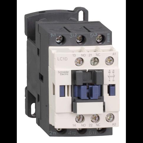 SE Contactors D Контактор 3Р, 12А,НО+НЗ,220В 50/60 Гц зажим под винт (LC1D125M7)