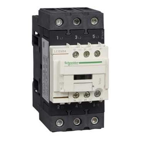 SE Contactors D Контактор 3P AC3 440В 65A катушка упр. 110В AC 50/60Гц (LC1D65AF7TQ)