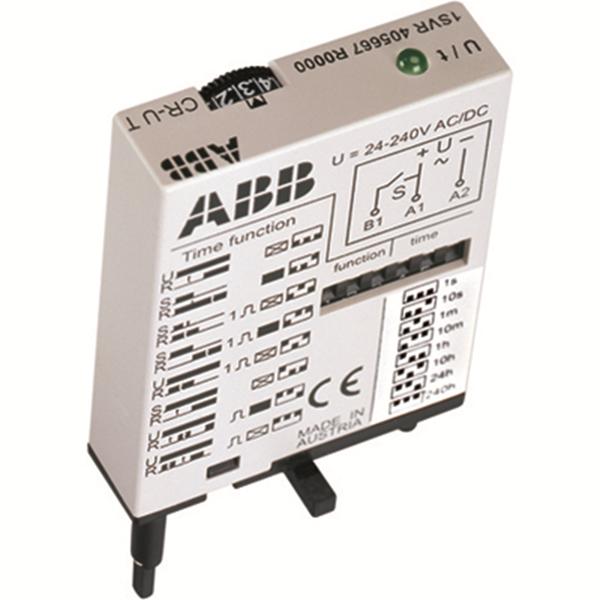 Многофункциональный модуль времени CR-U T для интерфейсных реле CR-U 1SVR405667R0000 ABB