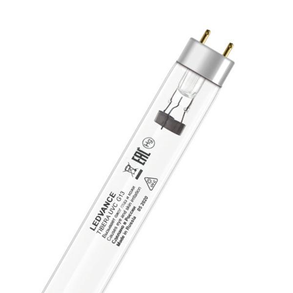 Лампа бактерицидная G13 30Вт 220В трубка TIBERA UVC Ledvance